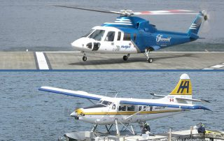Helijet Sikorsky S-76 & Harbour Air DHC-3 Turbine Otter