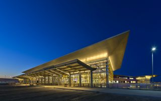 A beautiful shot of YWG's terminal Photo: Gerry Kopelow