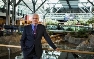 YVR CEO Craig Richmond on location at YVR. Photo: Bob Frid 2016 - YVR