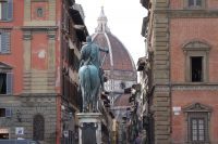 Heading to the Duomo in Florence