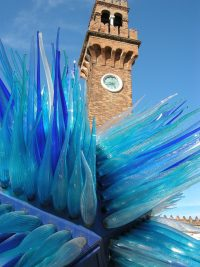 Glass Sculpture in Murano