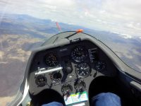 Flying the ASK-21 at at Soaring NV