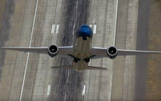 Boeing's 787-9 practicing for the 2015 Paris Air Show