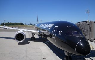 The first 787-9 ready for delivery to Air New Zealand.