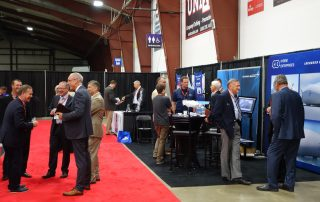 The two-day conference was an important opportunity for industry suppliers, manufacturers, and government officials to meet and mingle.