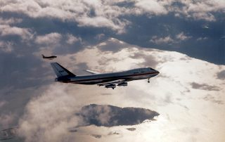 The first flight of Boeing's 747 - The Queen of the Skies. Photo: Boeing