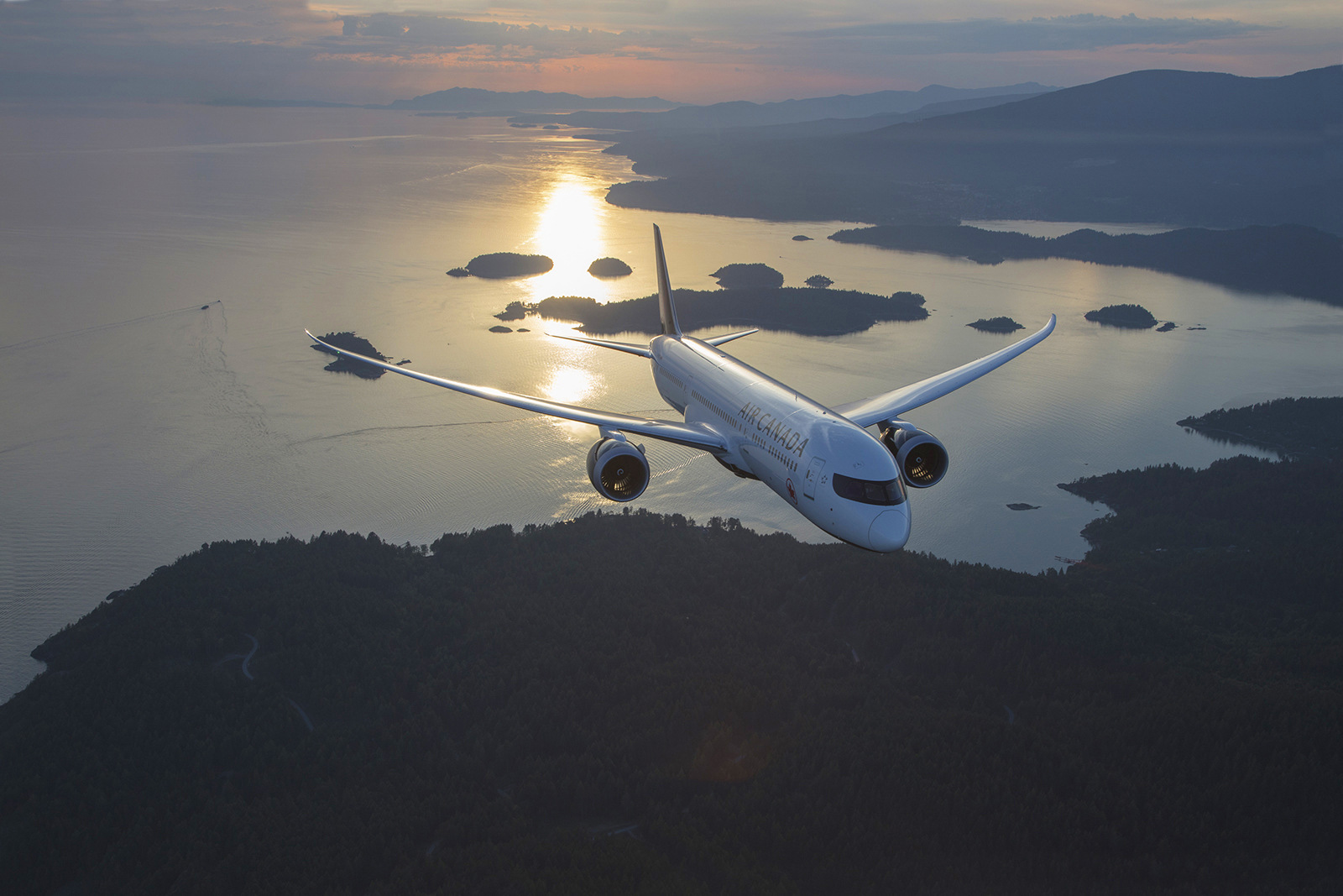 One of the amazing photos of the 787-9. Photo: Brian Losito / Air Canada