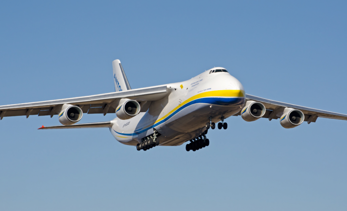 The Antonov AN-124 will haul just about anything, anywhere. Photo: Antonov Airlines