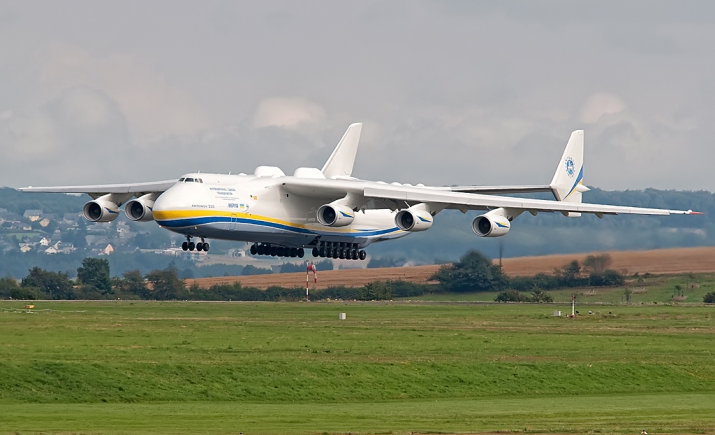 The mighty AN-225 is the world's largest aircraft. Photo: Antonov Airlines