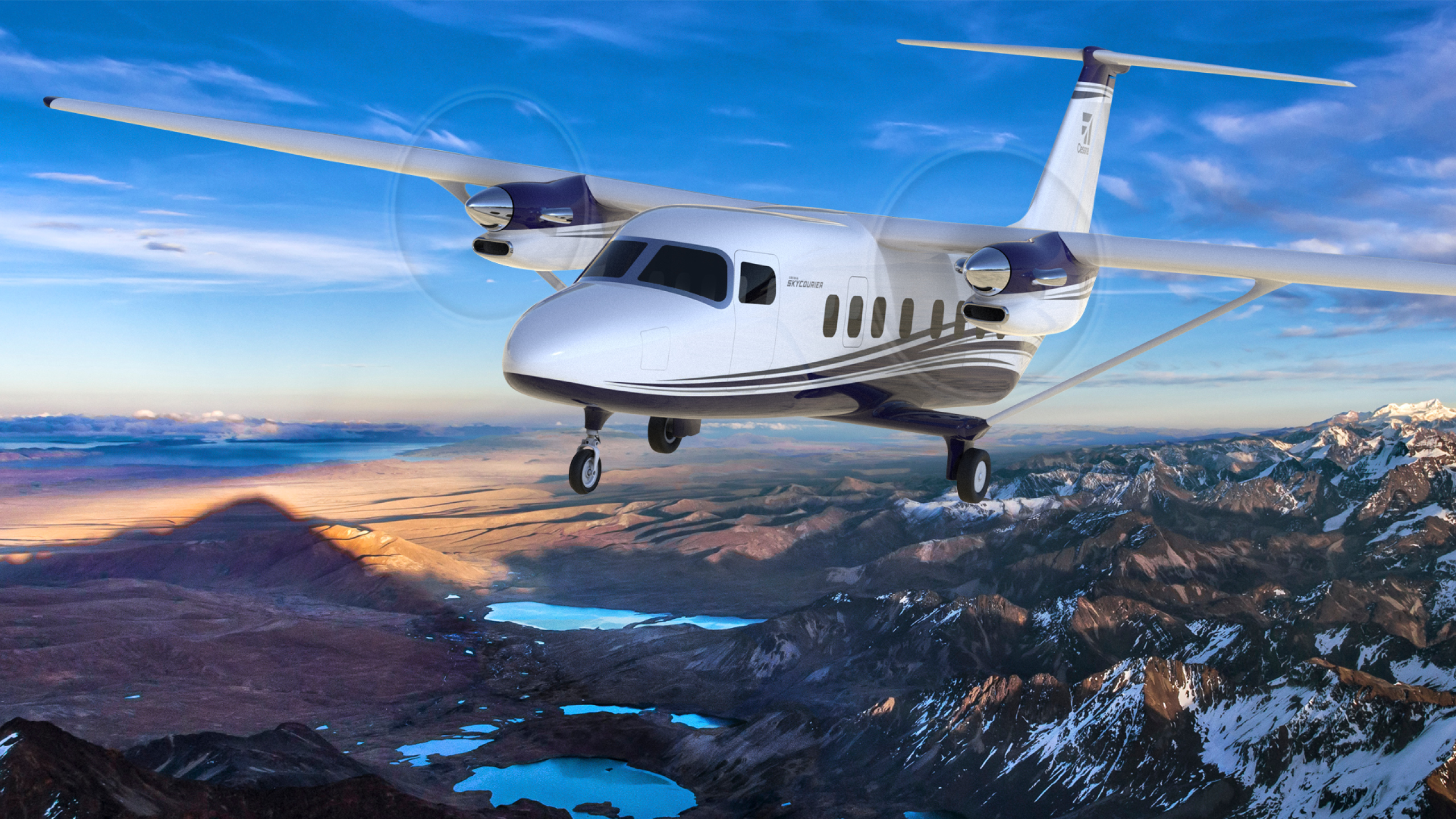 Cessna's new SkyCourier regional cargo plane will launch with FedEx. Image: Textron