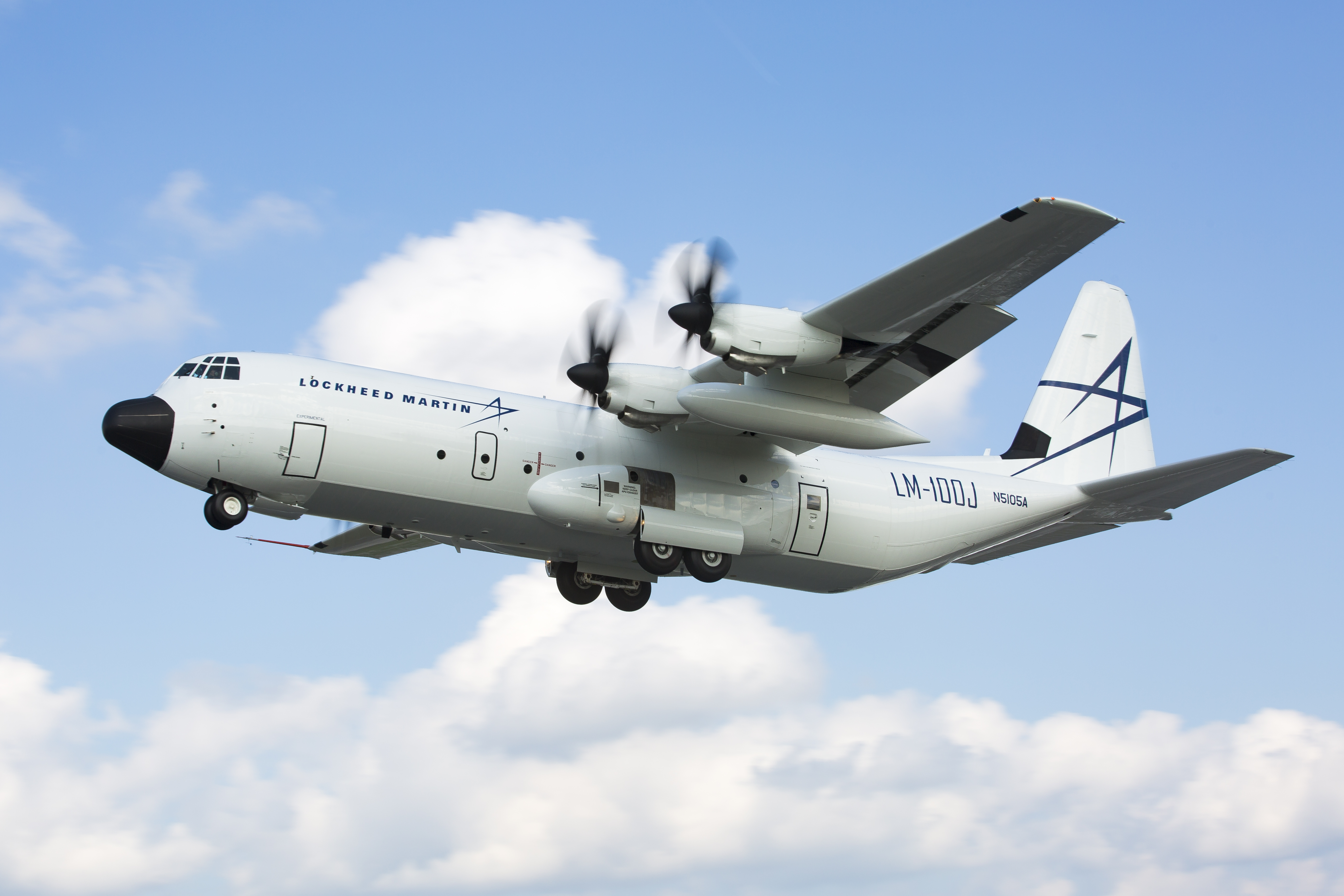 "The Lockheed Martin LM-100J ""Super Hercules"" is the workhorse of the skies. Photo: Lockheed Martin"