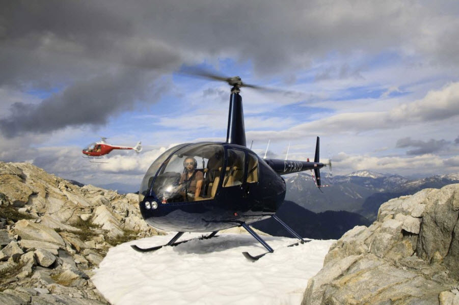 In addition to the Cabri, BC Helicopters now operates a Robinson R44 and R66. BC Helicopters Photo