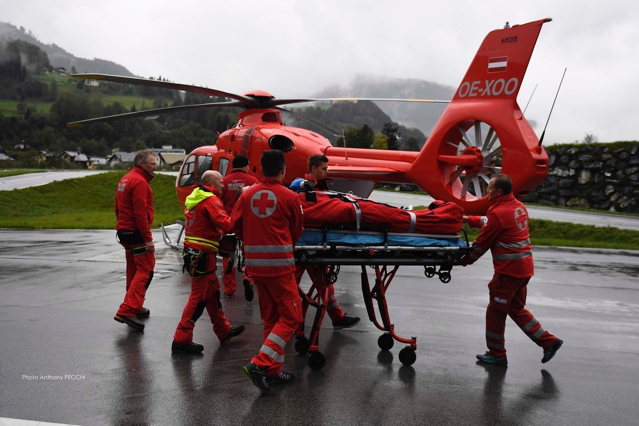 The company is transitioning from the MD 902 to the H135 for its EMS work with Martin Flugrettung. Photo: Anthony Pecchi