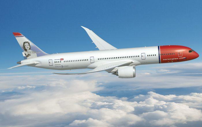 Norwegian 787-9. Credit: Creative Commons - Norwegian