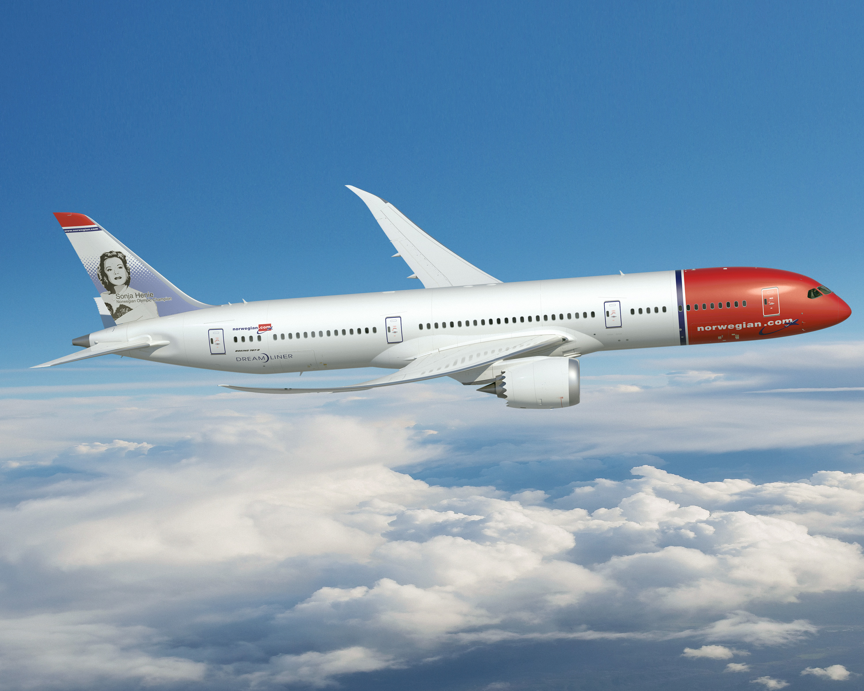 Norwegian 787-9. Credit: Creative Commons - Norwegian