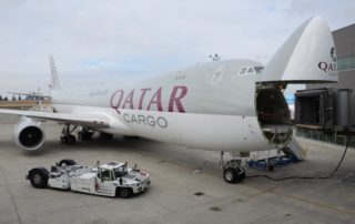 Qatar Airways Cargo Boeing 747-8F Photo: Jon Ostrower