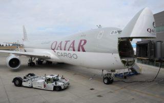 Qatar Airways Cargo Boeing 747-8F Photo: Jon Ostrower