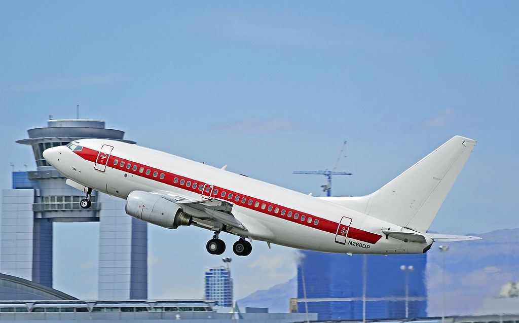 A Janet Boeing 737 at Las Vegas in 2011. Photo: Tomás del Coro via Wikicommons