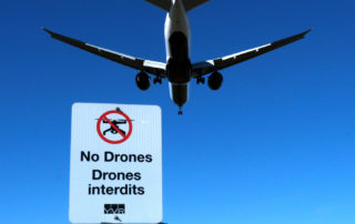 "Vancouver International Airport - YVR makes it clear that it's a ""No Drone"" Zone."