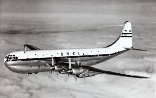 BOAC flew the Boeing 377 Stratocruiser.