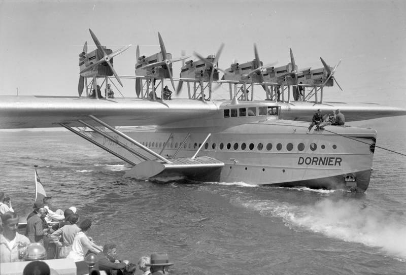 The massive Dornier Do-X.