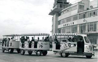 All aboard the Dublin Airport Express - in 1962!! Photo: Dublin Airport